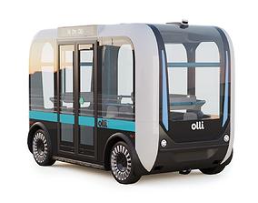 Driverless Bus Local Motors Olli 3D model