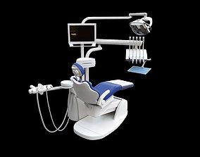 3D asset Dentist Chair rigged