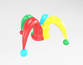 Jester hat v1 001 3D model