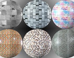 3D model Textur PACK Tiles