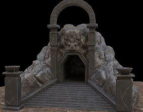 stone Cave-Entrance 3D