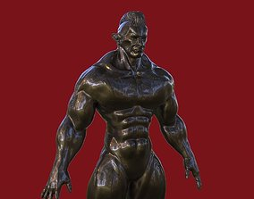 Mr Universe Figure 3D model