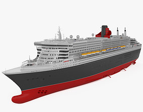 RMS Queen Mary 2 3D