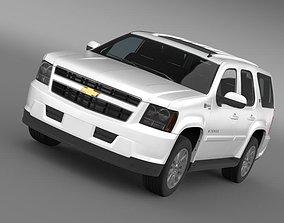 3D Chevrolet Tahoe Hybrid 2012