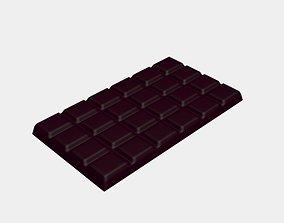 Chocolate Bar 3D model swiss