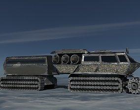3D model Rough Terrain Vehicle RTV