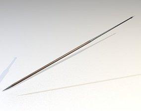 3D Model Roman Legionnaire Spear Pilum