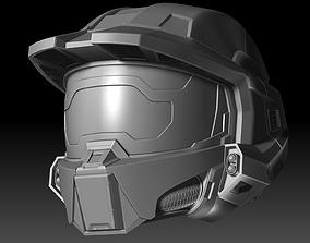 Master Chief Helmet Halo Infinite fanmade 3D printable