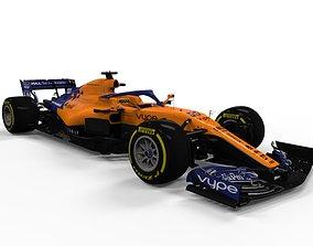 3D asset Mclaren F1 2019 MCL34