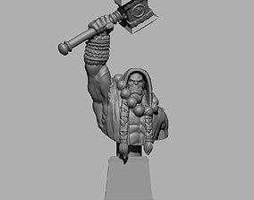 Thrall Bust 3D print model