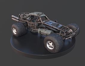 Post-Apo Dune Buggy ATV 3D model