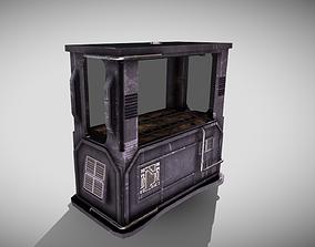 Hydroponics Chamber 3D model