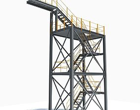 Industrial Tower 09 3D model