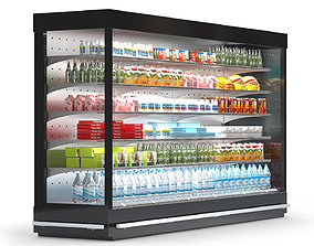 3D model Refrigerated Display Case