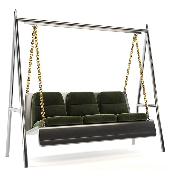 Swing for landscape 3D model