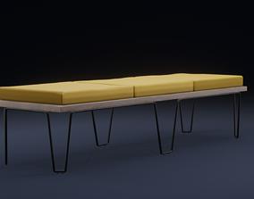 Alexis Bench 3D model