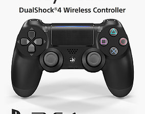 Sony Dualshock 4 Wireless Controller 2016 3D asset