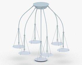 1488 - Chandelier Lamp 3D asset
