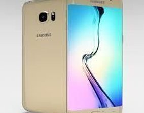 3D model Samsung s6