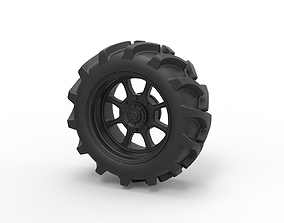3D printable model Diecast Wheel from Mud truck