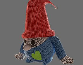 Christmas gnome 3D