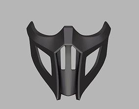 3D printable model Noob Saibot mask from Mortal Kombat 9 1
