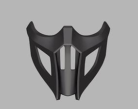 3D print model Noob Saibot mask from Mortal Kombat 9 and
