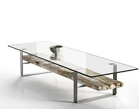 Transparent Coffee Table design 3D