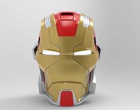 Iron Man MK 17 Heartbreaker Helmet for 3d