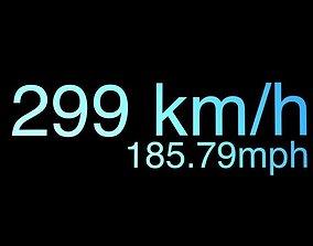 Speed Tachometer 3D