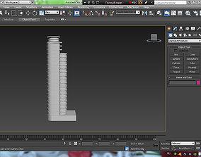 3D model neboskreb
