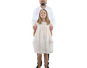 3D No396 - Father And Daughter