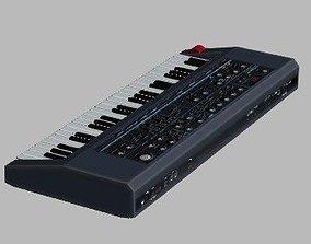 3D asset Eletronic keyboard
