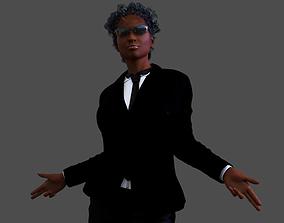 Female African Bodyguard - G-Woman 3D