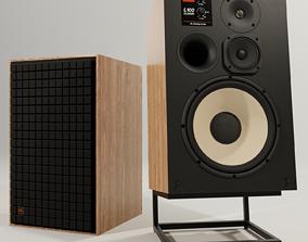 JBL L100 CLASSICS Loudspeaker with Stand 3D