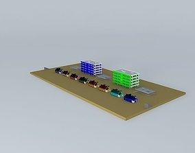 3D model Crowne Springs Part 5 Leanger St. H.