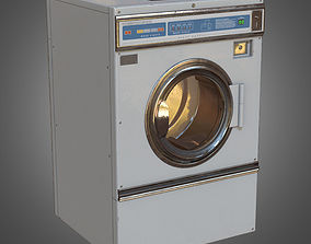 3D model Front Load Washer- PBR Game Ready