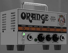 Orange Micro Terror Amplifier Head 3D model