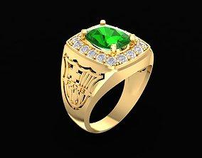 barcelona diamond ring 202 3D printable model