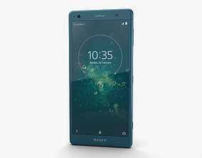 Sony Xperia XZ2 Deep Green 3D model