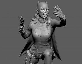 Batgirl Burnside Fan Art 3D print model
