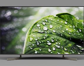 3D model TV SONY KD-49XF9005