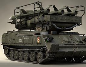 3D model 2K12 Kub SA-6 Gainful