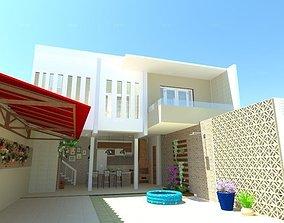 Projeto Residencial 3D model