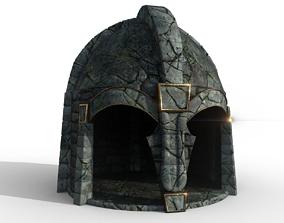 3D asset Ancient building