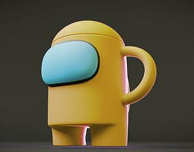 3D print model Among Us Mug