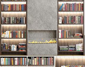 3D Bookcase interior
