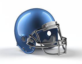 3D asset American Football Helmet