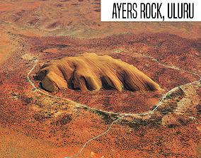 3D Ayers Rock Uluru