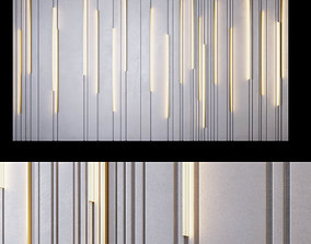 decorative panels with inserts and backlight PN12 3D asset